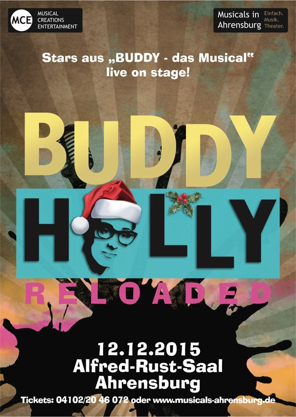 Buddy Holly reloaded live Ahrensburg