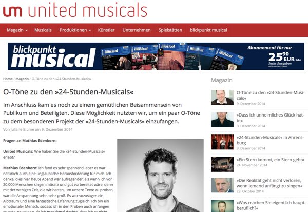 United Musicals O-Toene